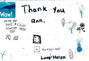 Helen drawing